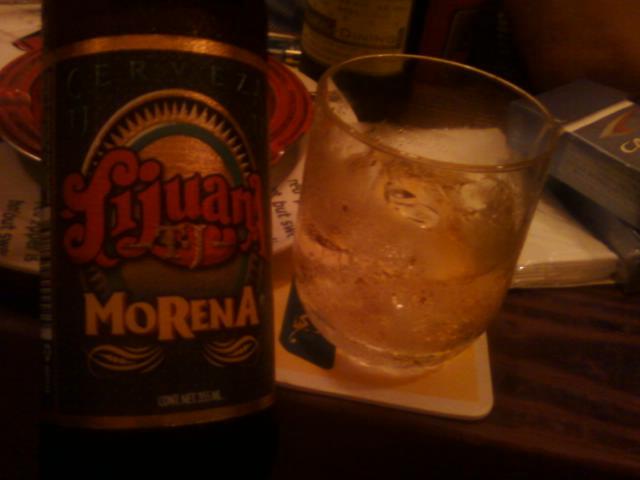 メキシコビールをチェイサーに♪